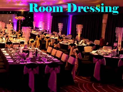 Room Dressing & Dance Floors